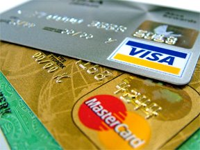 credit card thumb
