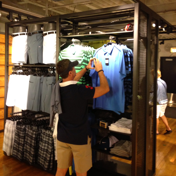 Consumer showrooming is a trend physical stores are dealing with.