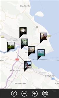 GeoPhoto app