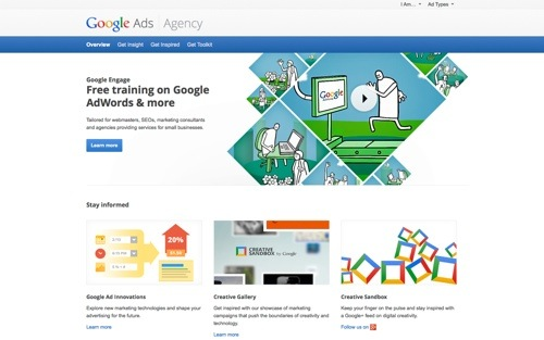 Google Agency website