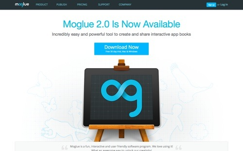 Moglue website
