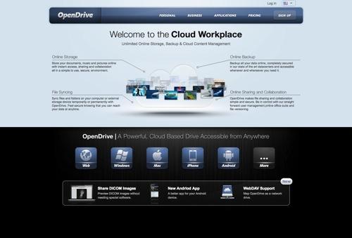 OpenDrive website