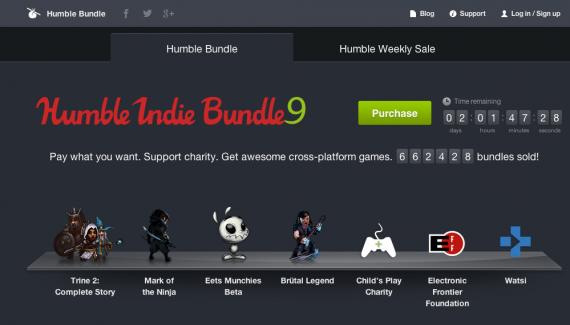 Humble Bundle screenshot