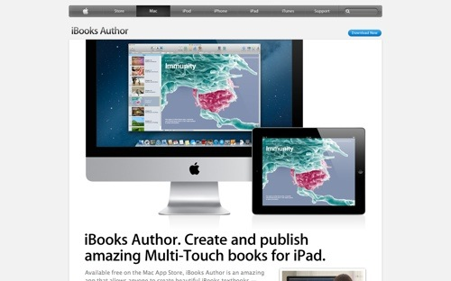 iBooks Author website