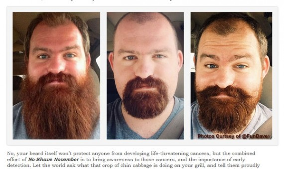 Man with beard, three images.