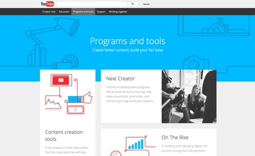 YouTube Programs & Tools