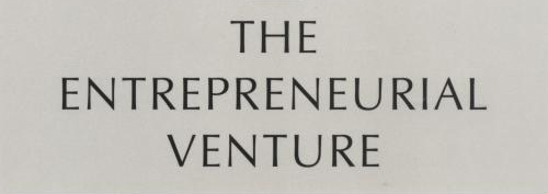 The Entrepreneurial Venture by William A. Sahlman and Others
