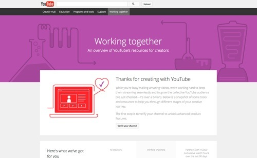 YouTube Working Together