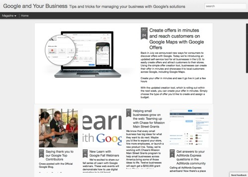 Google and Your Business website