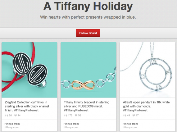Tiffany holiday gift guide