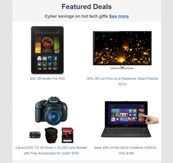 Amazon carefully describes offers to make them sound good to shoppers.