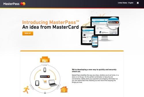 MasterPass website