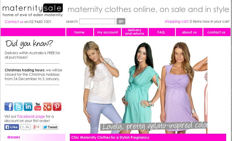 Maternity Sale