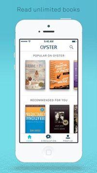 Oyster mobile app