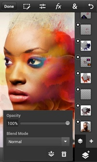 Photoshop Touch mobile app