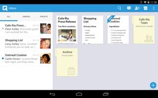 Quip mobile app
