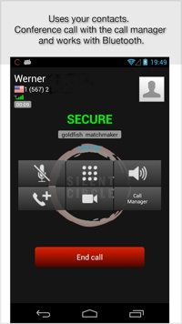 Silent Text mobile app