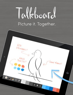 Talkboard mobile app