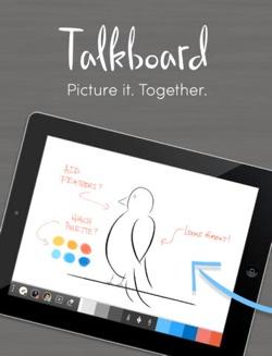 Talkboard mobile app