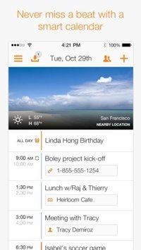 Tempo Smart Calendar mobile app