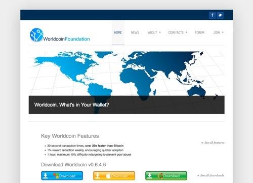 WorldcoinFoundation.org website