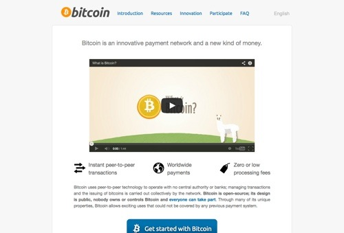Bitcoin.org website