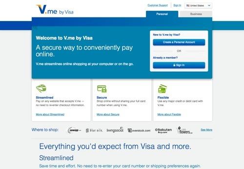 V.me website