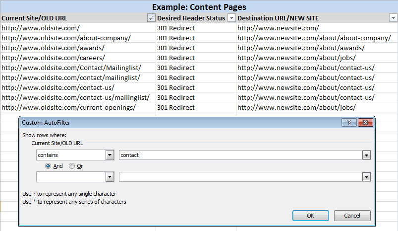 1 Example Content Pages