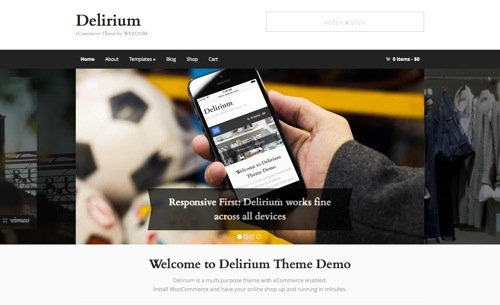 Delirium theme