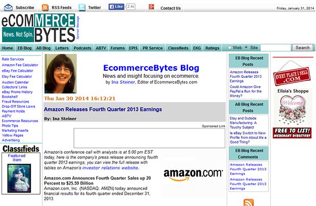 EcommerceBytes Blog