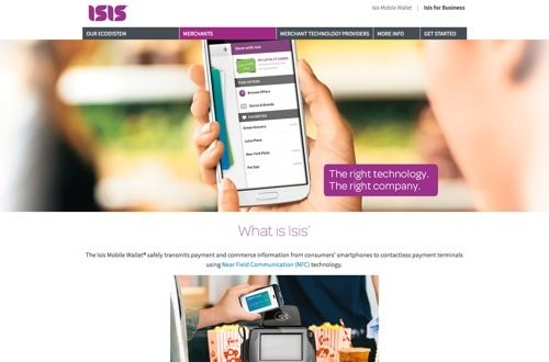 Isis website
