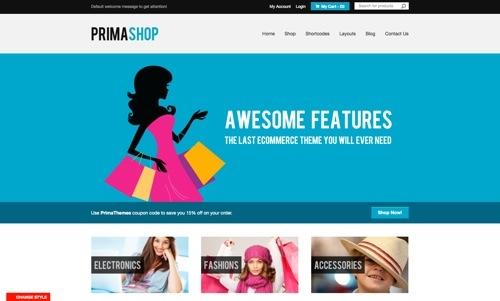 PrimaShop theme