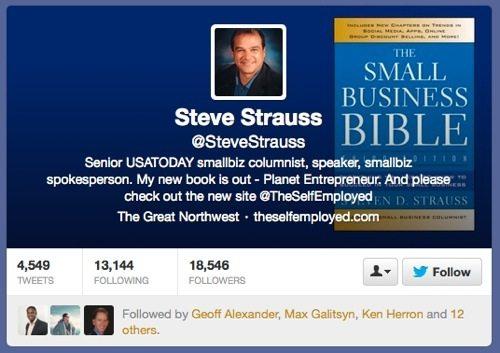 @SteveStrauss Twitter site