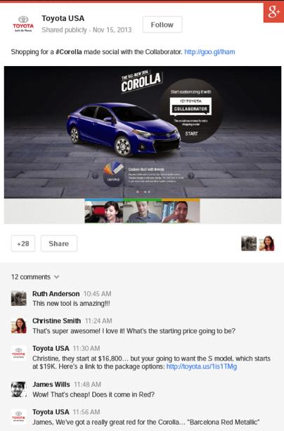 Google +Post ads