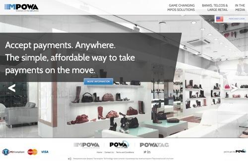 mPowa website