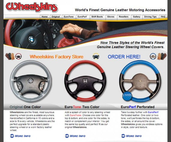 Wheelskins Is A Niche Automotive Retailer Selling Steering Wheel Covers