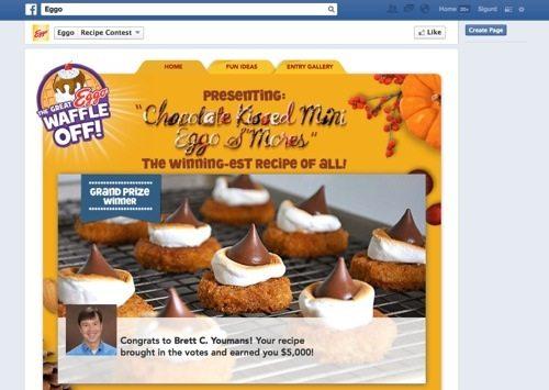 Eggo Facebook Contest