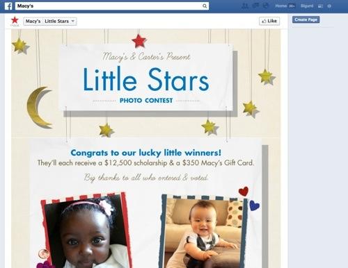 Macy's Facebook Contest