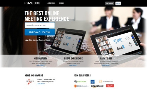 FuzeBox website
