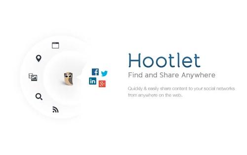 HootSuite Hootlet