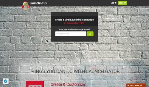 LaunchGator website