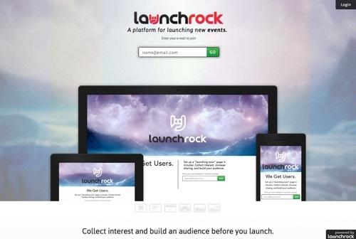 LaunchRock website