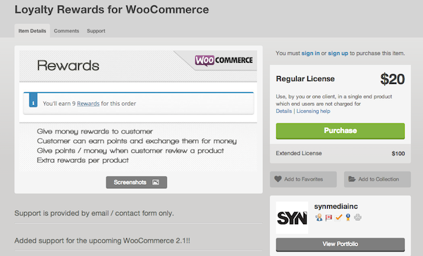 Loyalty Rewards WooCommerce