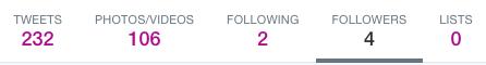 Tweet bar