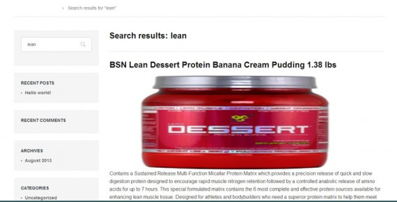 This product search distorted the results, an image of a dessert jar.