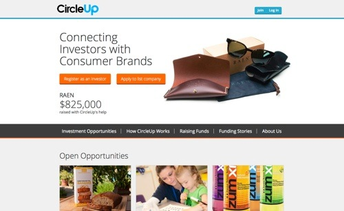 CircleUp website