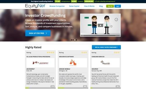 EquityNet website