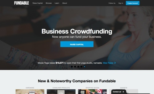Fundable website