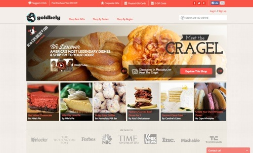 Goldbely website