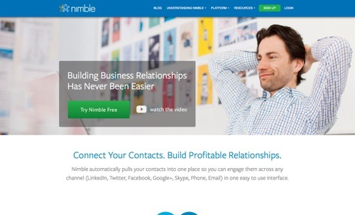 Nimble website